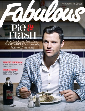 Towie's Mark Wright on the cover of a past issue. Yum.