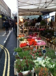 Flowers at the Broadway Market.