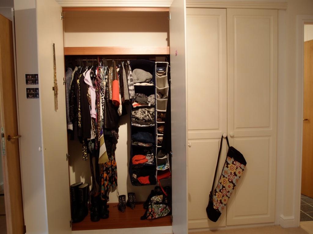 Big closet!