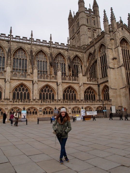 Me at Bath Abbey