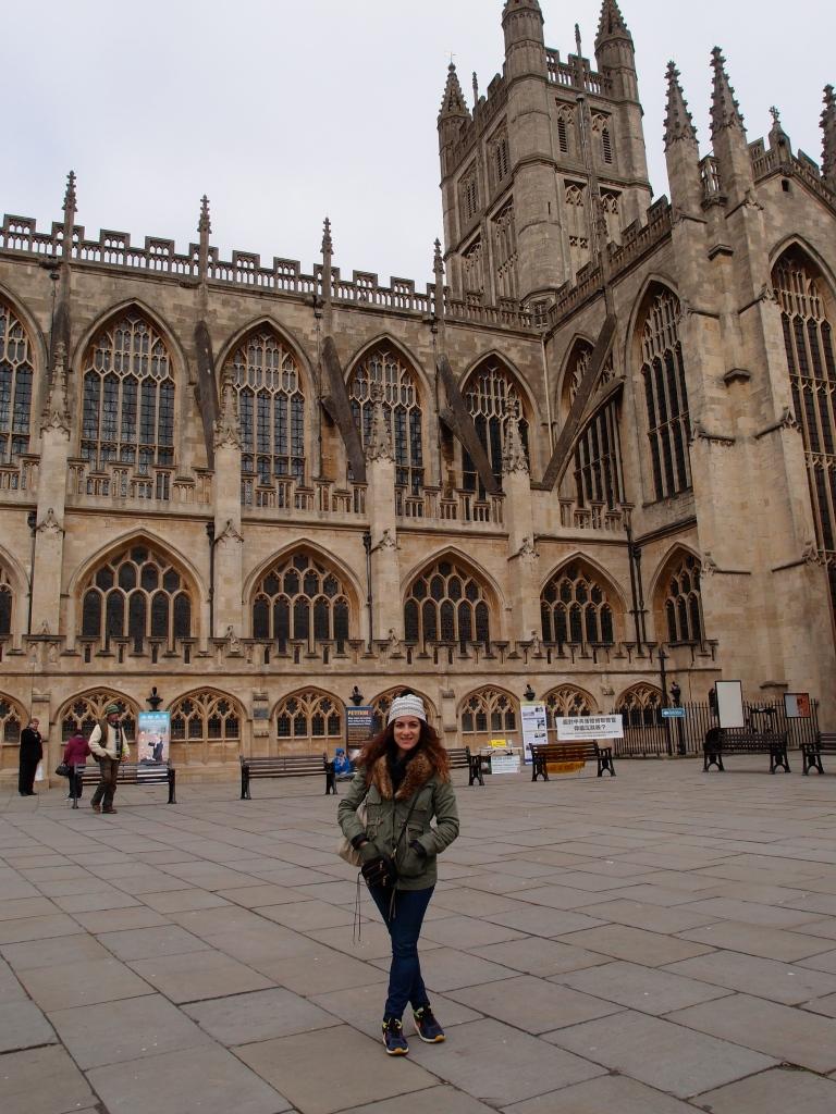Me at Bath Abbey