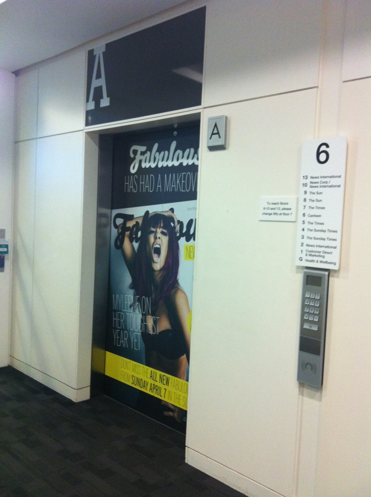 Fabulous gets a makeover -- and the lifts at 3TMS get one, too!