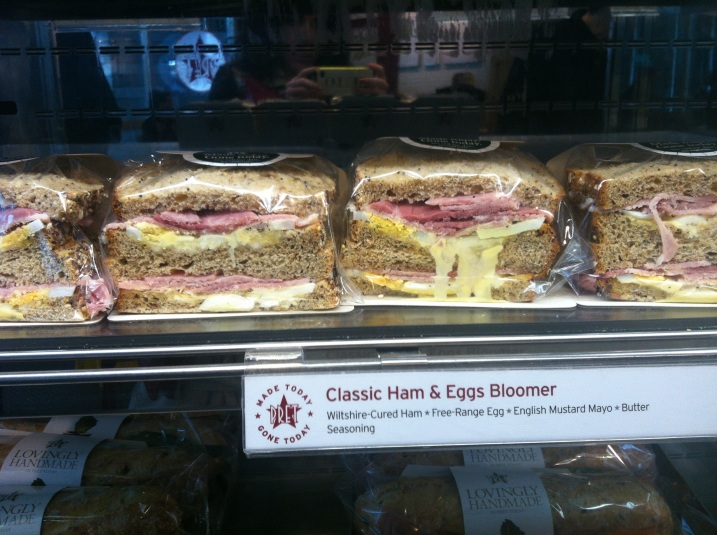 The Classic Ham & Egg Bloomer at Pret
