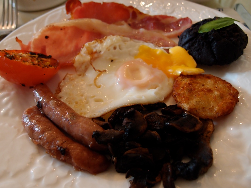 The full English breakie.