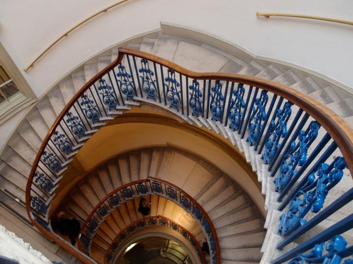 Courtauld Gallery stairwell.