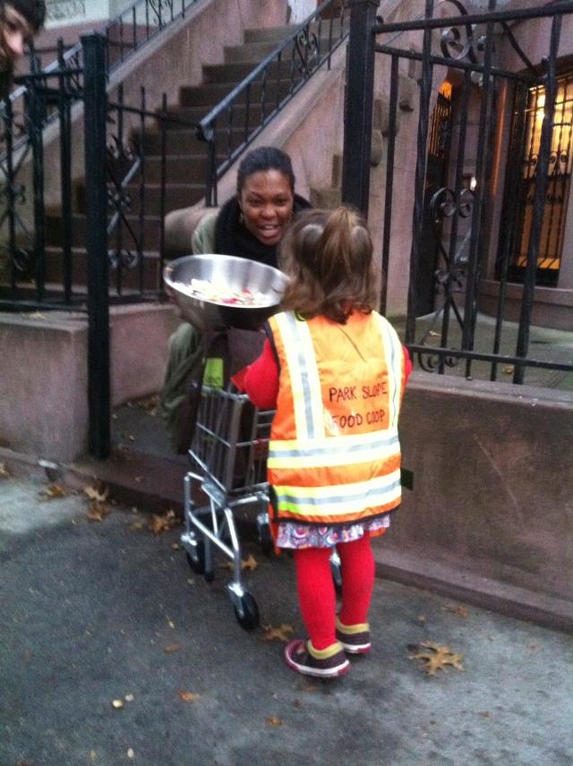 Best. Kid. Costume. Ever. A Park Slope Food Co-up Walker!