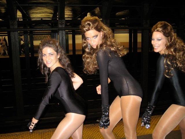 Subway Single Ladies!