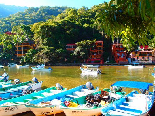 Boca, the closest port to Yelapa.
