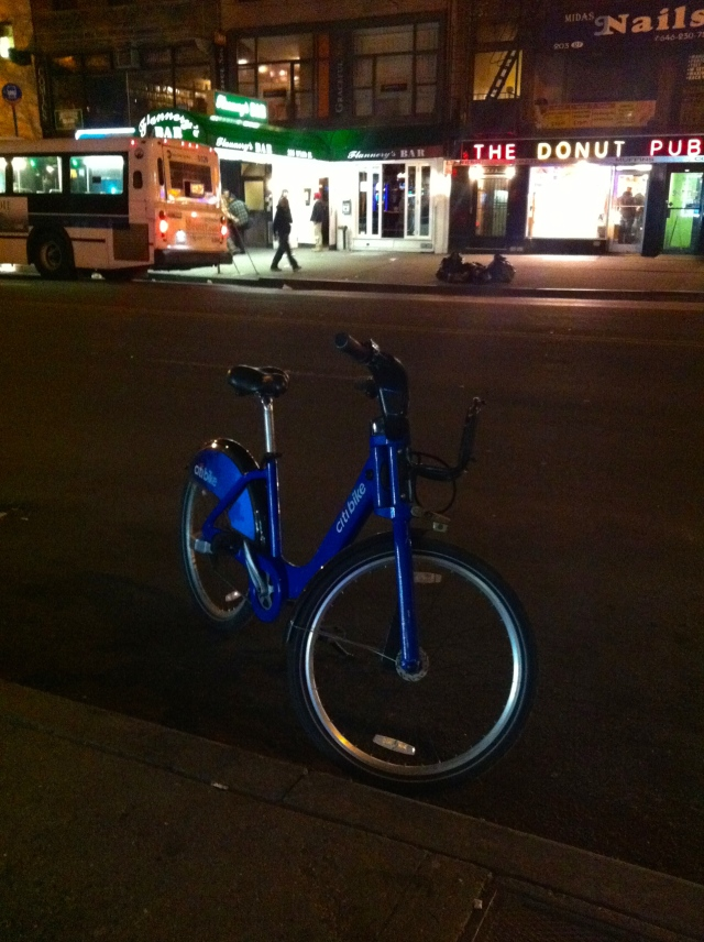 It could always be worse. You could be the person who left this bike undocked.