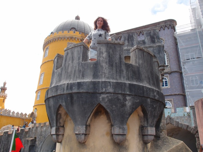 Getting my princess on in Sintra