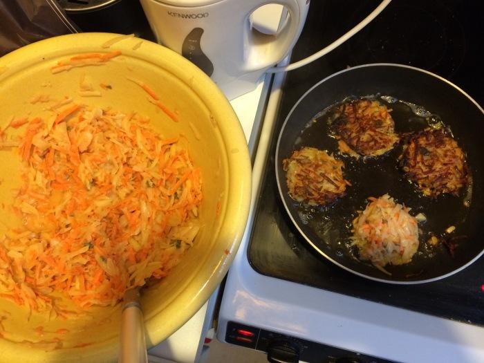 Sweet potato and thyme, yo!