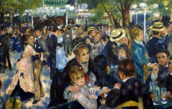 Bal du moulin de la Galette - Auguste Renoir (1870)