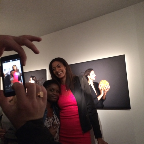Pictures of people taking pictures of people in pictures.