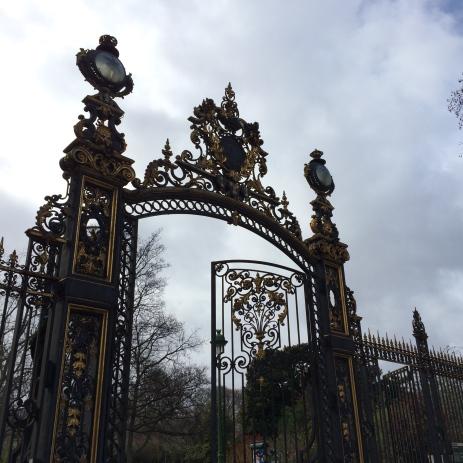 Entrance to Park Monceau