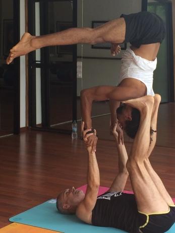 Acro yogis