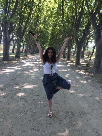 Obligatory tree pose
