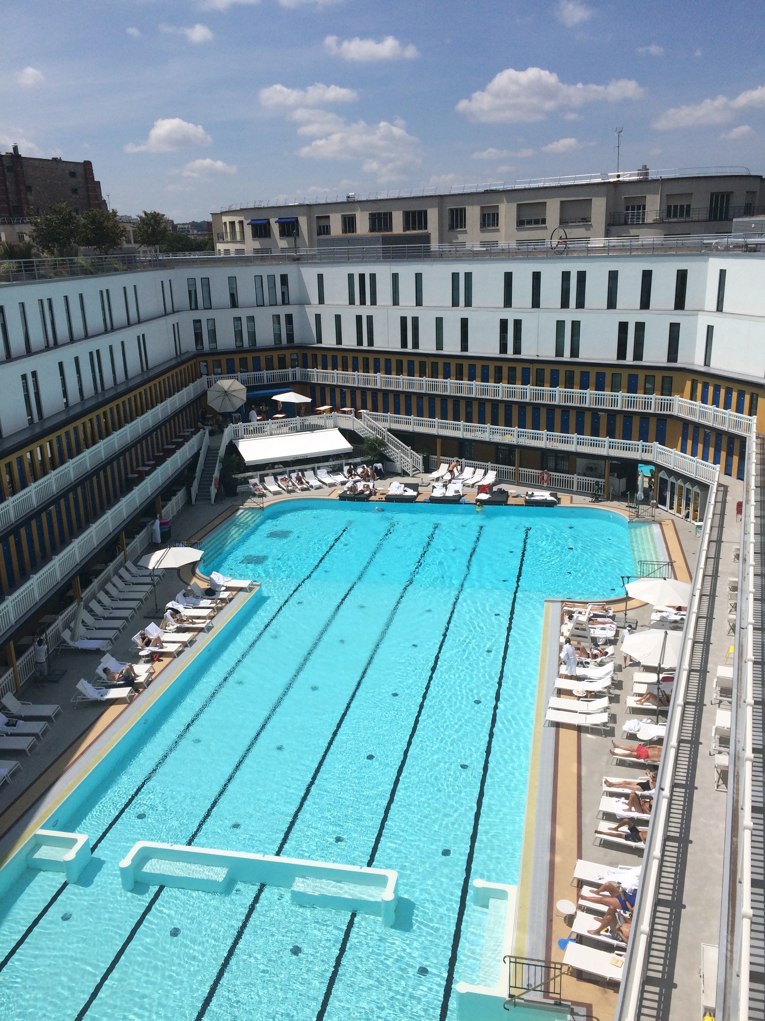 My paris faves for where to eat shop stay and play for Piscine molitor