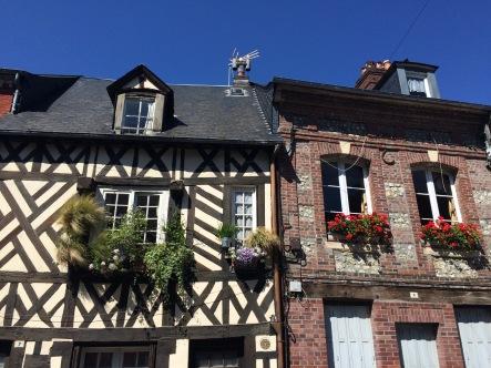 Charming homes in Honfleur