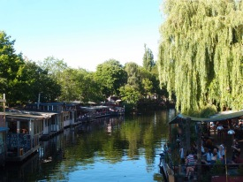 Bar Barges on a canal!