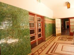 Restored school lobby