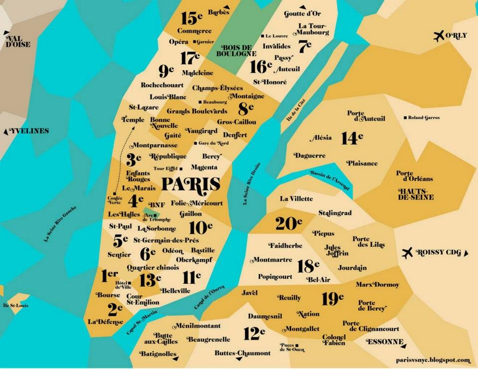 Paris, New York - News Girl About Towns