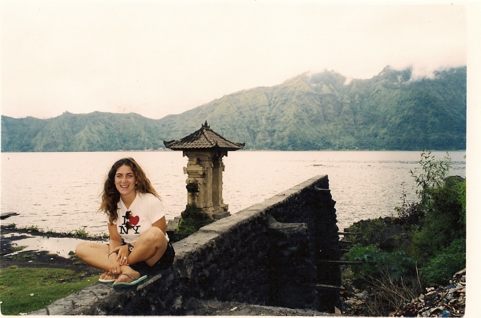 Me, visiting Mt. Batur in February, 2001