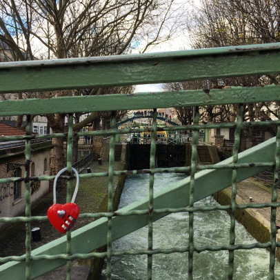 The locks of Canal Saint-Martin